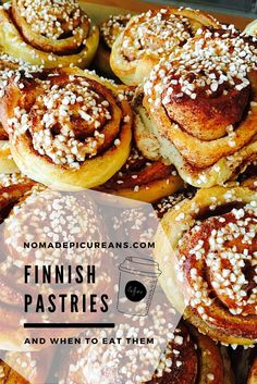 Learn all about Finnish pastries and when to eat them!