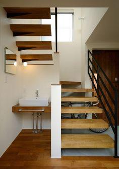 住宅街にあるコの字型の家・間取り(東京都三鷹市)   注文住宅なら建築設計事務所 フリーダムアーキテクツデザイン