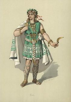 Carl Emil Doepler's Costume Designs for The Ring Cycle