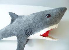 Schultüte Hai  von miniaturi - Schönes und Nützliches, Märchenhaftes und Verspieltes für Groß und Klein auf DaWanda.com