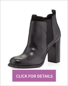 Thick Heel Booties Under $200