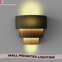 Wall mount lighting solution... best for any spaces..