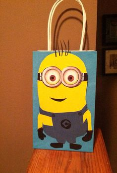 Despicable Me inspired Party Favor Bags