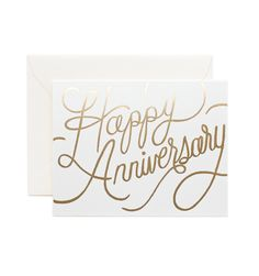 Happy Anniversary Available as a single folded card