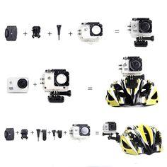 SJ4000 Waterproof HD 1.5 Inch Car DVR Camera Sport DV Novatek 1080P