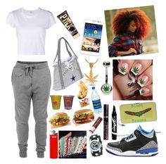 """""""Lazy Day With Bae"""" by michael-jackson-junkie ❤ liked on Polyvore featuring Diesel, RE/DONE, NIKE, Humör, King Ice, Nemesis, Samsung, Maybelline, Too Faced Cosmetics and Chapstick"""