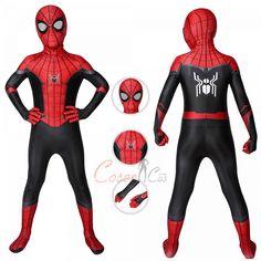 Spider-Man Costume Spider-Man: Far From Home Cosplay Peter Parker Full Set For Kids Magneto Costume, Hawkeye Costume, Deadpool Costume, Captain Marvel Costume, Marvel Costumes, Marvel Cosplay, Spiderman Homecoming Costume, Spiderman Costume, Miles Morales Costume