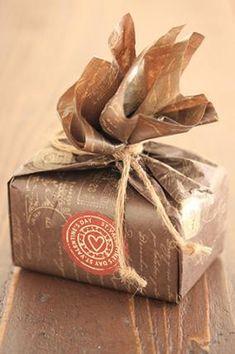 「バレンタインのラッピング「チョコレート」」お菓子教室SweetRibbonが提案する簡単かわいいお菓子ラッピング | お菓子・パンのレシピや作り方【corecle*コレクル】