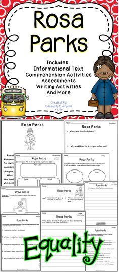 ROSA PARKS AMERICAN HERO Civil Rights History Educational Wall Chart POSTER