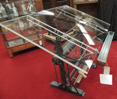 421: Industrial Drafting Table : Lot 421