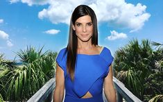 You Could Rent Sandra Bullock's Beach House for Your Next Vacation | Sandra Bullock's Tybee Island house has the perfect porch for dolphin spotting — and a huge swimming pool.