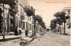 Entrada a la Riera. Fototipia Thomas. Circulada el 1921