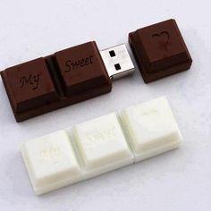 Choco USB! #chocolate #geek #sweet