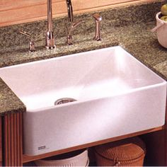 Franke Fireclay Apron Front sink | swoon...