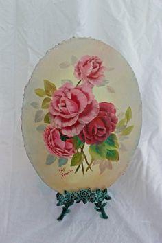 Painting Floral Oil by ATreasuredKeepsake on Etsy, $89.00