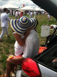 Perfect tailgating couple and our spot is in the background#Repin By:Pinterest++ for iPad#