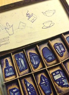 Household item stamps
