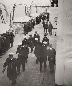 On board Titanic.