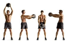 The Tar Heels Workout  http://www.menshealth.com/fitness/the-ultimate-medicine-ball-workout