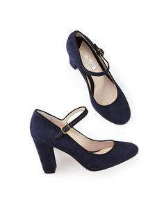 Navy Mary Janes from Boden USA