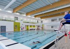 Ashington Community and Leisure Centre Swimming Pool Designs, Swimming Pools, Sport Pool, Year 2, Project Management, Hygge, Design Projects, Fitness Inspiration, Centre