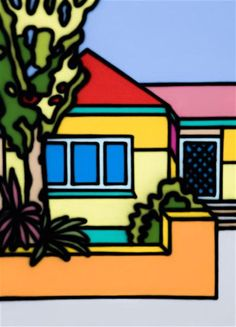 Untitled 1994 by Howard Arkley