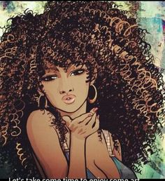 This is a close resemblance of what I hope my hair to look lik… Natural Hair art. Natural Hair Art, Natural Hair Styles, Natural Beauty, Natural Curls, Black Girl Art, Black Women Art, Art Girl, African American Art, African Art