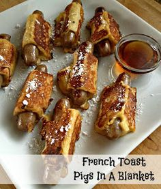 The Girly Girl Cooks: French Toast Pigs In A Blanket