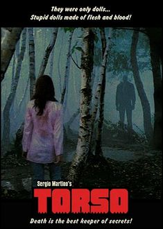 #Giallo Carnal Violence. 1973 Un grupo de chicas estudiantes son acechadas por un psicópata sexual, del que sólo se sabe que estrangula a sus víctimas con un pañuelo rojo y negro...