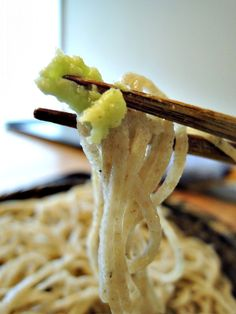 Japanese Soba Noodles with Fresh Wasabi Mustard (Zoom)