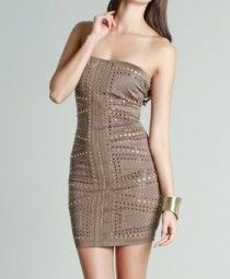 Studded Front Party Dress- add a necklace to class it up a bit!
