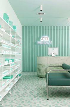 SERGIO MANNINO STUDIO · Medly Pharmacy in New York