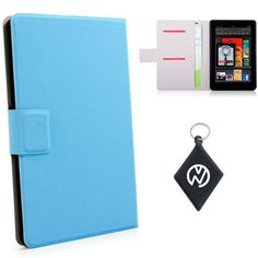 Kindle Keyboard Wi-Fi (e-Book Reader) Baby Blue Book Shelf. Includes NuVur ™ keychain. (MDKFDPB1) by Kroo. $7.99. Protect your investment from minor bumps, scratches and debree with this one of a kind sleeve case, made from the finest quality materials with Style and Durability in mind. Fits your Kindle Keyboard Wi-Fi 7 inch Tablet. Includes NuVur ™ keychain.. Save 68% Off!