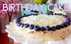 Lemon Blueberry Birthday Cake | Cheap Clean Eats (+playlist)