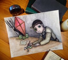 El joven Viktor Frankenstein. de claraballego en Etsy https://www.etsy.com/es/listing/275984746/el-joven-viktor-frankenstein