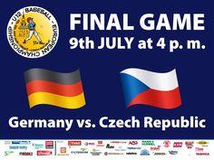 Finále mistrovství Evropy U13 v Třebíči na Hvězdě v 16.00 hod DNES!!! ČESKO - NĚMECKO