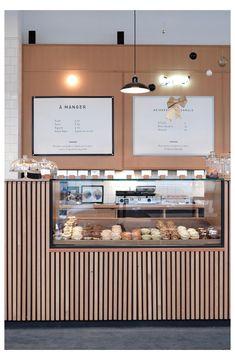 Cafe Bar Counter, Coffee Shop Counter, Bar Counter Design, Coffee Shop Bar, Cofee Shop, Coffee Bar Design, Coffee Shop Interior Design, Restaurant Interior Design, Coffee Shop Interiors