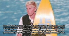 One of the best acceptance speeches :)