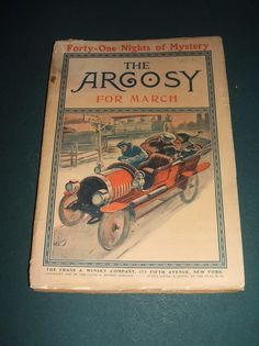 March 1906 Issue of The Argosy Vintage Pulp Magazine Great stories and Ads #TheArgosy