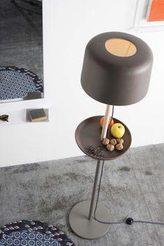 Handmade Ceramic materials floor #lamp FUSE FLOOR - @extdesign