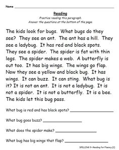 Worksheets Free 1st Grade Reading Comprehension Worksheets pinterest the worlds catalog of ideas complete first grade spelling curriculum includes phonics fluency passages based on skill for the