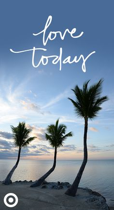 Sunrises & palm trees. Perfection! Just like Shade & Shore's bra-size collection of bikinis.