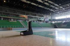 Profesjonalna konstrukcja jezdna do koszykówki Spalding Basketball Court, Sports, Sport