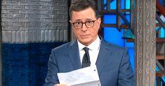 Stephen Colbert Stages Emotional Intervention For Donald Trump Over Vladimir Putin | HuffPost