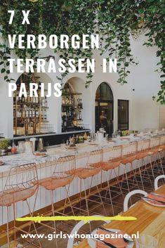 Een tripje naar Parijs op de planning en van plan om te terrassen als een echte Parisienne? Dit zijn de best bewaarde terrassen van Parijs. Paris Paris, Paris France, Paris Travel Tips, Paris Summer, France Travel, City Lights, Travel Inspiration, Places To Visit, Tours