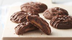 There are cookies, and then there are cookies stuffed with a chocolate-caramel surprise in each bite. These are the ones you want!