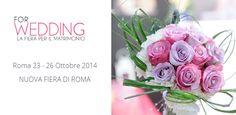 Vi aspettiamo a partire dalle 15:00 nella White Room presso la Nuova Fiera di Roma! www.cinziaferri.com