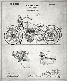 20 free vintage printable blueprints and diagrams remodelaholic blueprints of some of the most significative invention of the last century malvernweather Choice Image