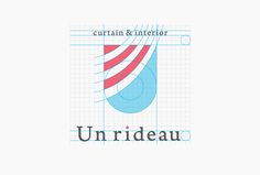 Unrideau / CI design on Behance