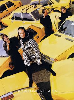80s90sredux:  Adrienne Vittadini ad 1990 feat Cordula reyer